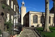 Kostel svatého Petra v okovech je součástí londýnského Toweru