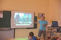 Debata s novinářkou Ivanou Svobodovou na Základní škole Vratislavova v Praze 2