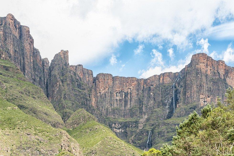 Vodopád Tugela v Jihoafrické republice