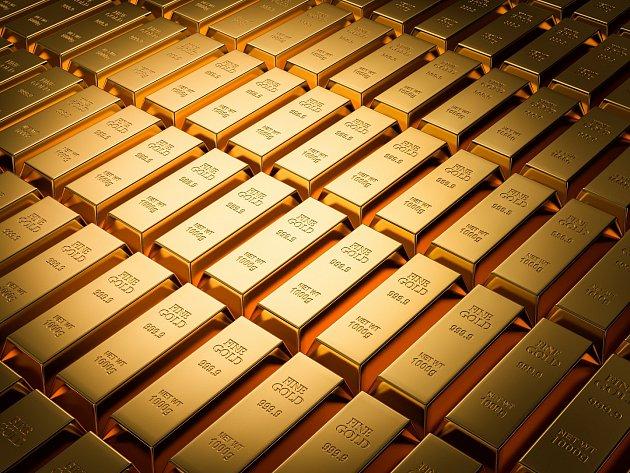 Zlaté cihly (zlato)