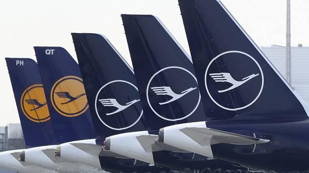 Letadla společnosti Lufthansa. Ilustrační foto.