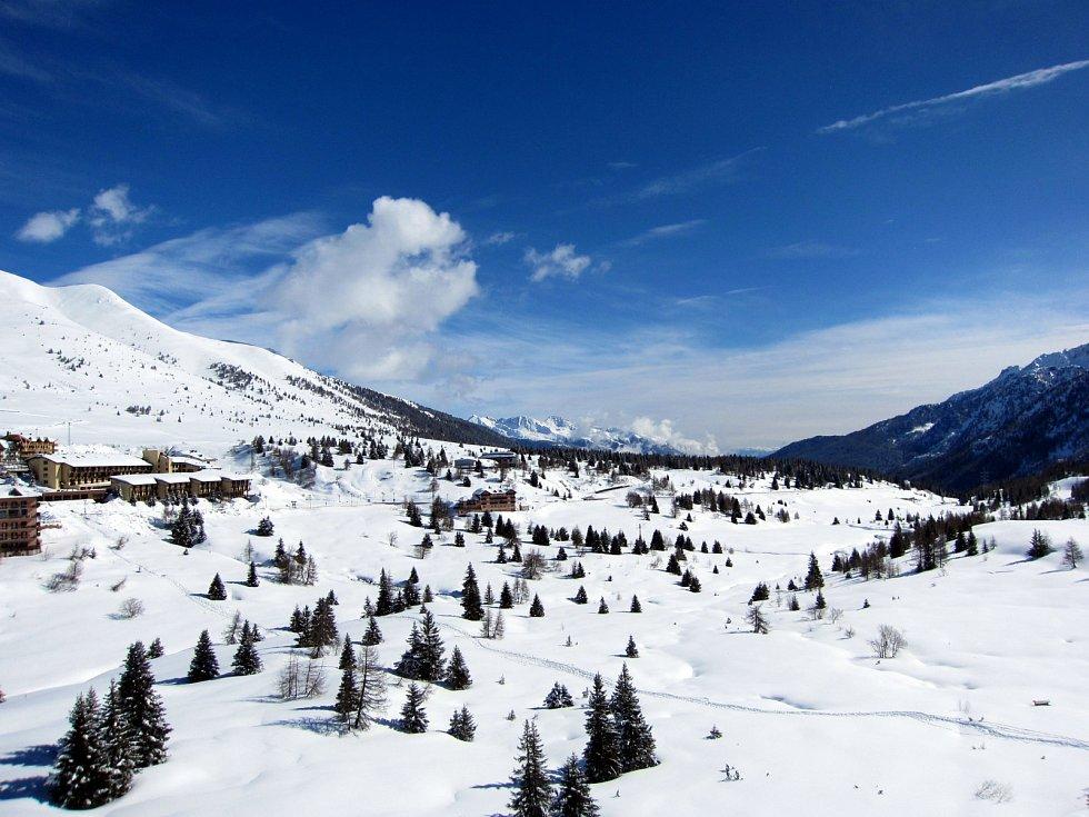 Italské alpské středisko Tonale