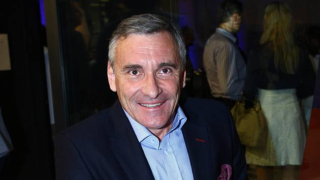 Herec a moderátor Jan Čenský.