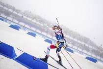 Česká biatlonistka Markéta Davidová.