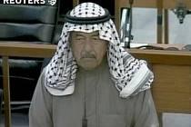 Ali Hassan al-Majid neboli Chemický Alí před tribunálem, který jej odsoudil k trestu smrti.
