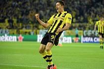 Robert Lewandowski z Dortmundu byl proti Realu Madrid ve formě, vypráskal ho čtyřmi góly.