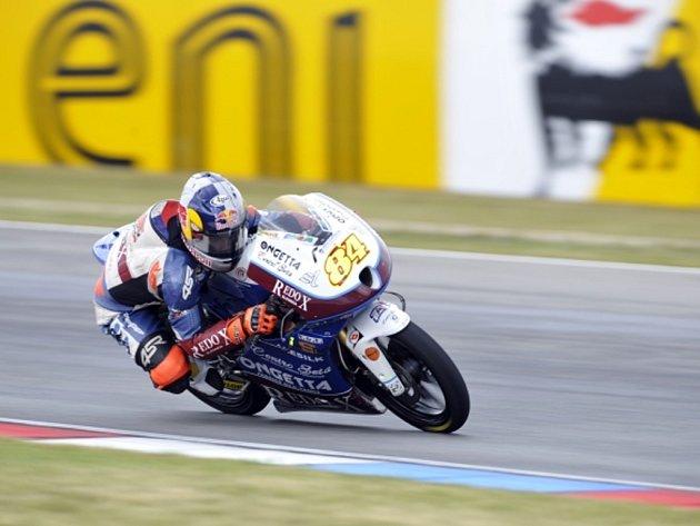 Jakub Kornfeil skončil v GP České republiky šestý.