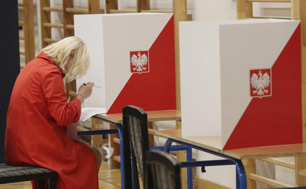 Žena u voleb v Polsku