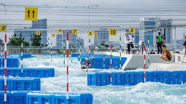 Předolympijské testovací závody ve vodním slalomu v Tokiu