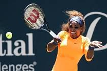 Serena Williamsová na turnaji v Charlestonu.