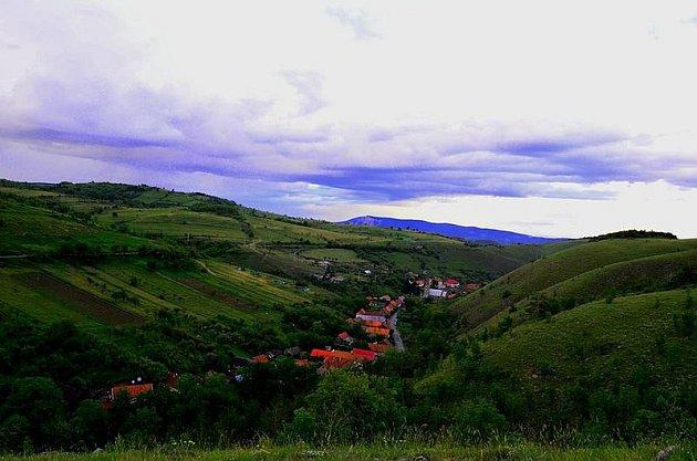 Česká vesnice Eibentál v Rumunsku
