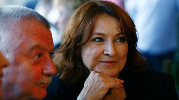 Ladislav Potměšil a Zlata Adamovská