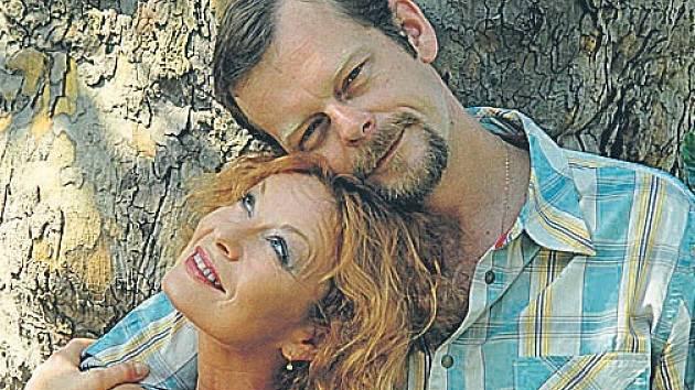 Vilma Cibulková a Martin Stránský, její filmový zavražděný muž.