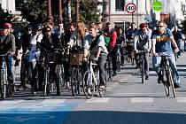 V Kodani jezdí na kole všichni a za každého počasí