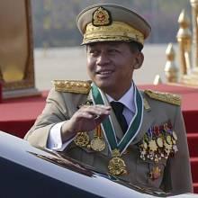 Vrchní velitel myanmarské armády Min Aung Hlaing