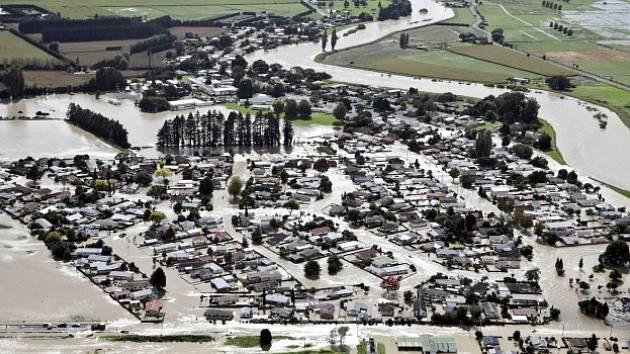Záplavy na Novém Zélandu