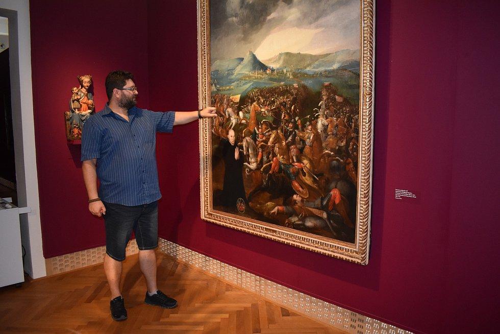 Bitvu u Mostu zachytil votivní obraz Wolfganga Selendera z let 1580-1593. V roce 1921 byl kvůli obavě z národnostních půtek u příležitosti bitvy z Mostu tajně odvezen do Míšně.