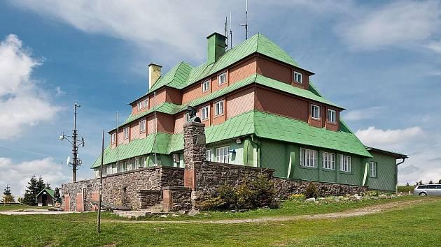Masarykova chata na Šerlichu.