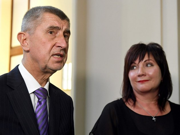 Andrej Babiš a Alena Schillerová.