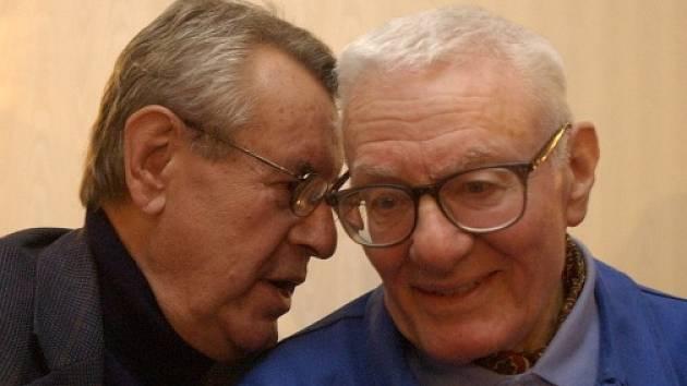 Peter Shaffer a Miloš Forman