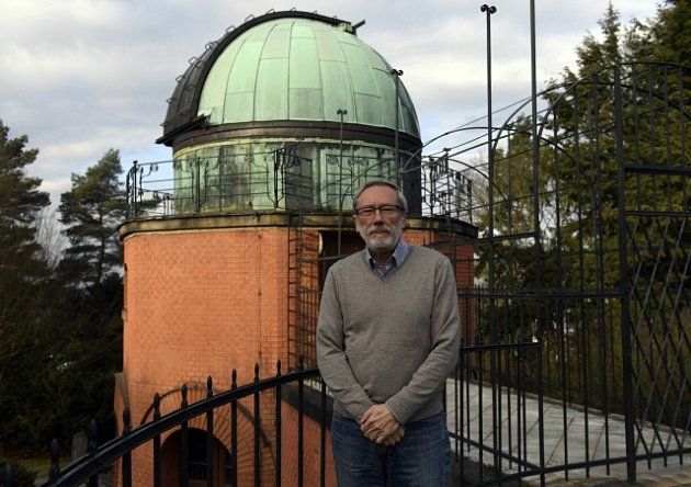 Petr Heinzel, předseda České astronomické společnosti