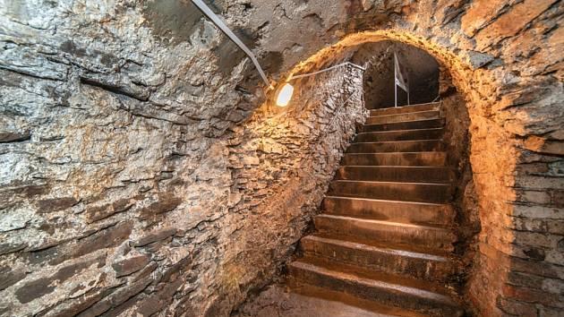 Radniční podzemí, Kašperské Hory