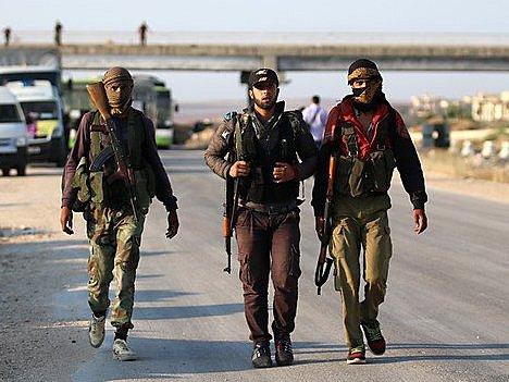 Syrští rebelové - Ilustrační foto