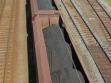 Uhlí na železnici