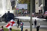Policejní vodní dělo v Minsku