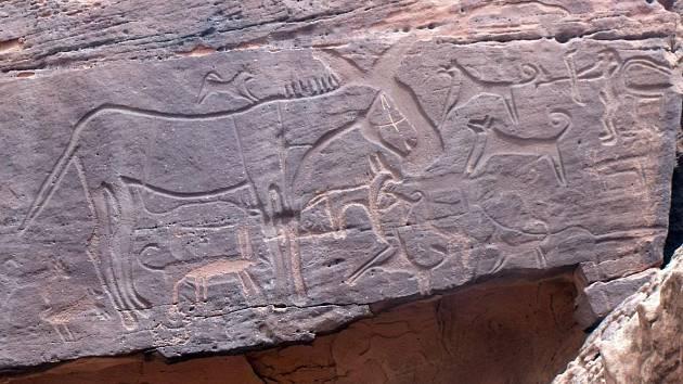 Malby v Jeskyních v Saúdské Arábii