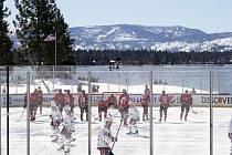 Zápas NHL pod širým nebem. Dějiště? Jezero Tahoe