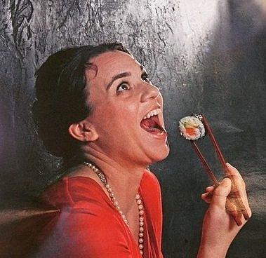 Bára Rektorová známá jako Sushi Queen