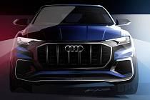 Koncept Audi Q8.