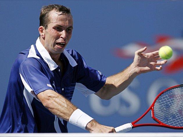 Radek Štěpánek nestačil v neděli v New Yorku na Rogera Federera.