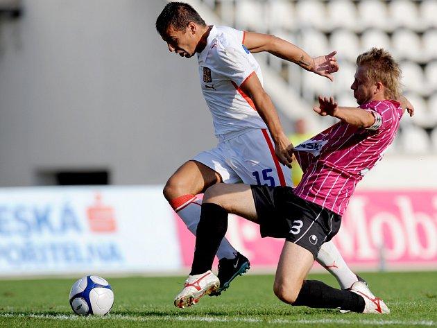 Milan Baroš se proti obraně Českých Budějovic neprosadil.