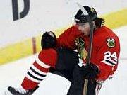 Útočníka předního týmu NHL San José Sharks Milana Michálka  jsme v rámci přípravy na exhibiční  utkání zastihli na strakonickém ledě.