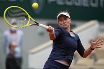 Barbora Krejčíková ve 3. kole French Open.