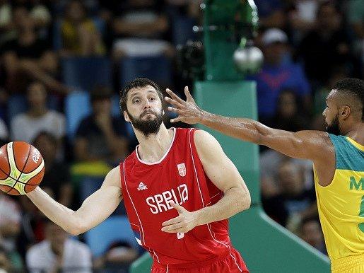 Srbští basketbalisté přehráli v semifinále OH Austrálii 87:61