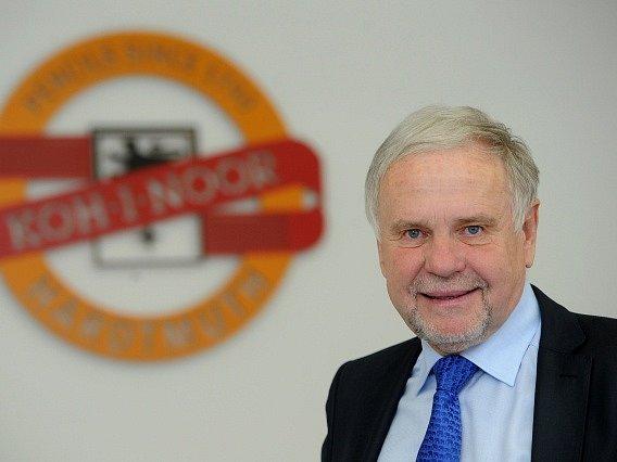 Generální ředitel Koh-i-noor Holding Vlastislav Bříza.