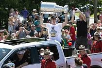 Sidney Crosby přivezl Stanley Cup domů do Cole Harbouru.