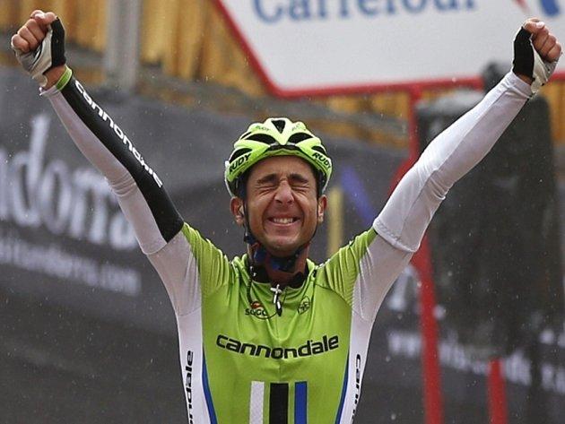 Daniele Ratto opanoval čtrnáctou etapu Vuelty.