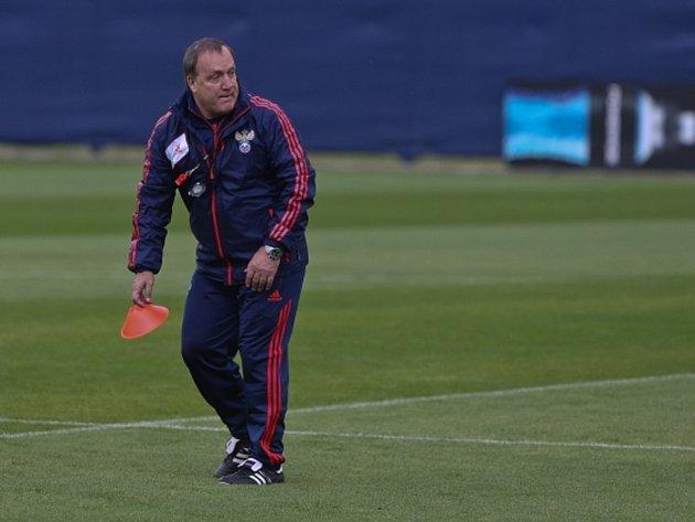Trenér ruských fotbalistů Dick Advocaat.