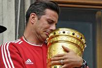 Claudio Pizarro z Bayernu Mnichov.