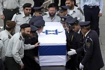 Izraelci se rozloučili s expremiérem Arielem Šaronem.