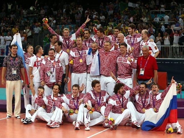 Volejbalisté Ruska otočili zápas s Brazílií a vyhráli olympijský turnaj.