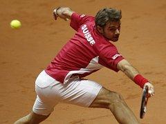 Finále Davis Cupu: Stanislas Wawrinka