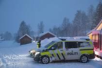 Vůz norské policie. Ilustrační foto
