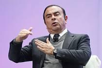Bývalý šéf francouzsko-japonské automobilové aliance Renault-Nissan-Mitsubishi Carlos Ghosn na snímku z 9. ledna 2017