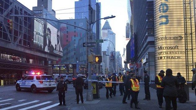 Výbuch na Manhattanu