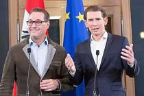 Heinz-Christian Strache a Sebastian Kurz